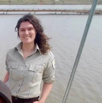 An image of Detroit River International Wildlife Refuge biologist Jessie Fletcher.
