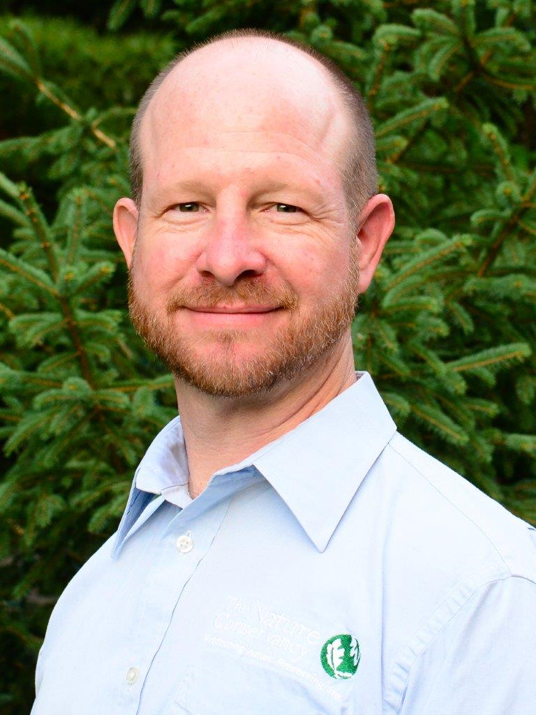 Image of The Nature Conservancy's Director of Protect Land and Water, Chris May